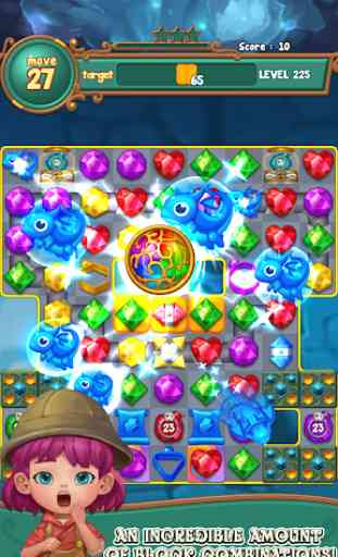 Jewels fantasy :  Easy and funny puzzle game 3