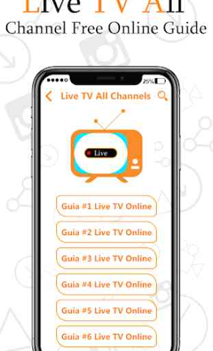 LIVE TV FREE Online Guide For All Channels 3