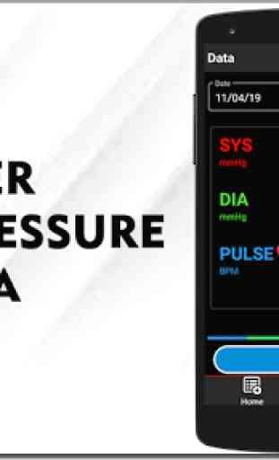 Registratore di pressione sanguigna Tracker storia 1