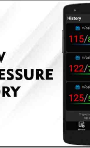 Registratore di pressione sanguigna Tracker storia 2
