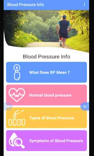 Blood Pressure - BP INFO 3