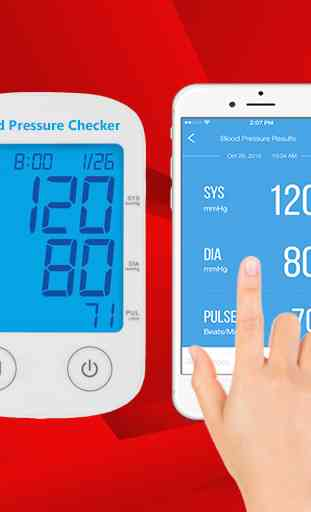 Blood Pressure Checker Readings 1