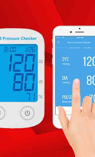Blood Pressure Checker Readings 2
