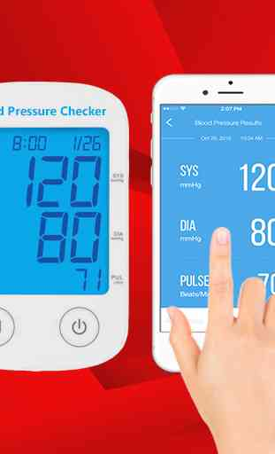 Blood Pressure Checker Readings 3