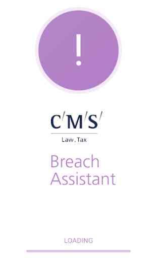 CMS Breach Assistant 1