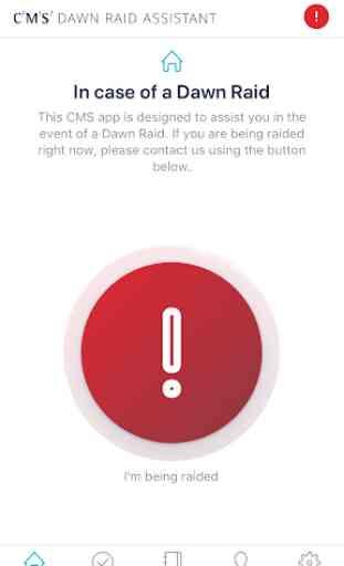 CMS Dawn Raid App 1