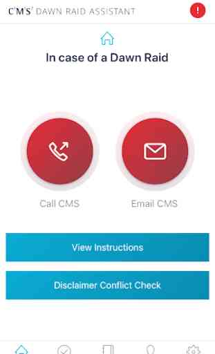 CMS Dawn Raid App 2