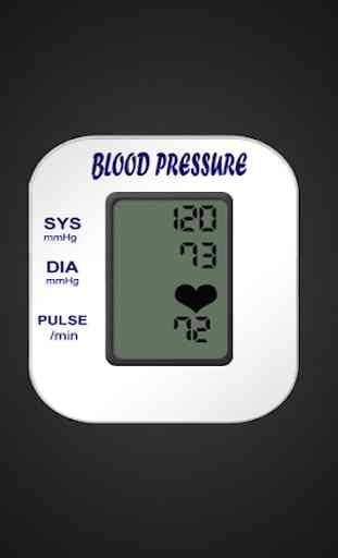 Controllo pressione sanguigna - Tracker BP 3