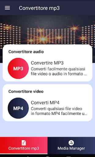 Convertitore MP3 - convertitore video Mp3 gratuito 1