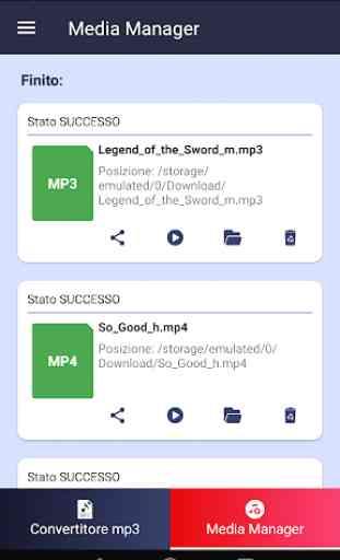 Convertitore MP3 - convertitore video Mp3 gratuito 4