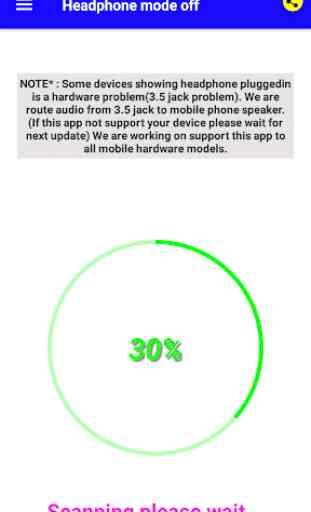 Headphone mode off 1