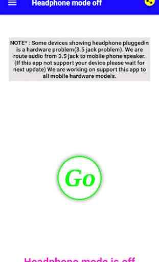 Headphone mode off 2