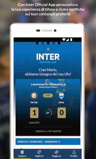 Inter Official App 1