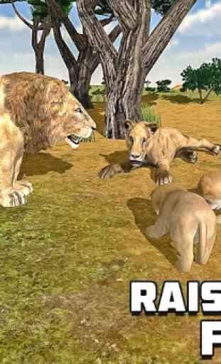 Furious Lion Family Sim 3