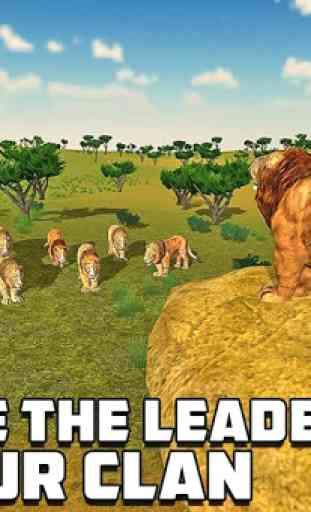 Furious Lion Family Sim 4