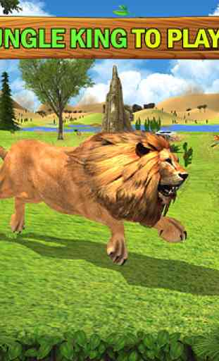 Jungle Kings Kingdom Lion Family 1