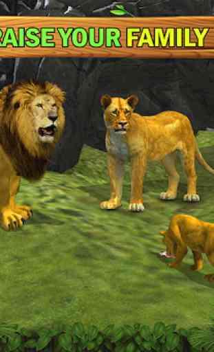 Jungle Kings Kingdom Lion Family 2