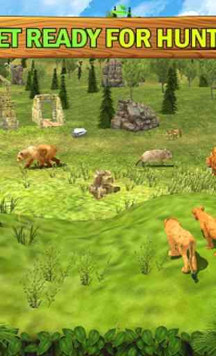 Jungle Kings Kingdom Lion Family 4