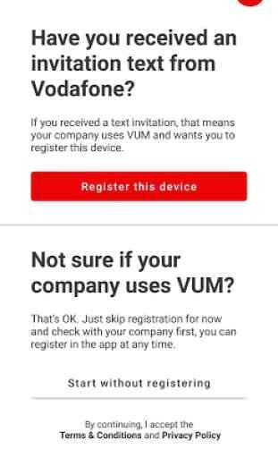 Vodafone Usage Manager 2