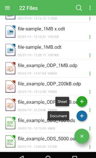 OpenOffice - LibreOffice - OpenDocument Reader ODT 1