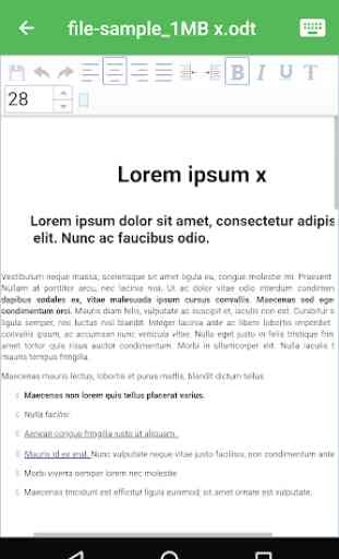 OpenOffice - LibreOffice - OpenDocument Reader ODT 3