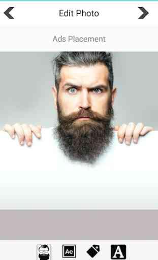Editor di foto per barba 3
