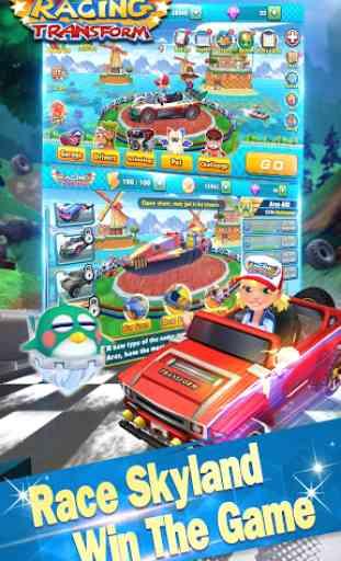 Racing Transform - Skyland Race 1