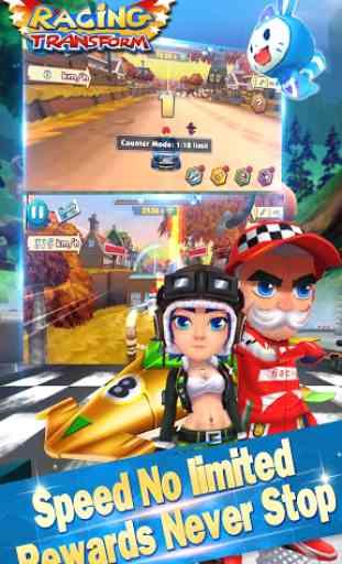 Racing Transform - Skyland Race 4