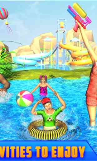 Giant Water Slide Adventure: Water Park Racing 2