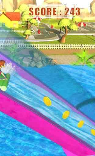 Giant Water Slide Adventure: Water Park Racing 4