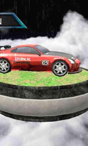 Sports Cars Water Slide - Water Slide Racing Games 2
