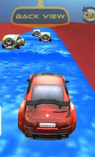 Sports Cars Water Slide - Water Slide Racing Games 4