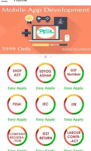 Udyog Aadhar : MSME / Udyog Adhar Registration App 1