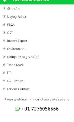 Udyog Aadhar : MSME / Udyog Adhar Registration App 4