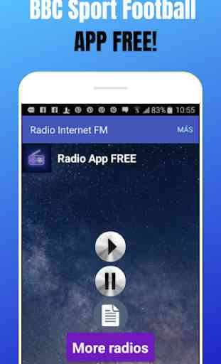 BBC Sport Football App Live Radio Player Free UK 1