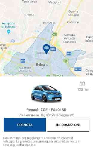 CORRENTE il Car sharing elettrico 3
