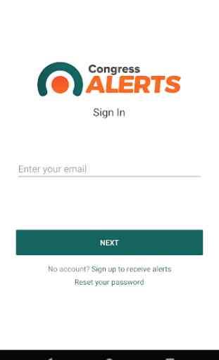 Congress Alerts 1
