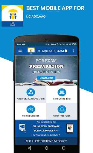 LIC ADO,AAO Exam - Free Online Mock Tests 1