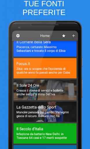 Notizie + | Giornali e quotidiani italiani 1