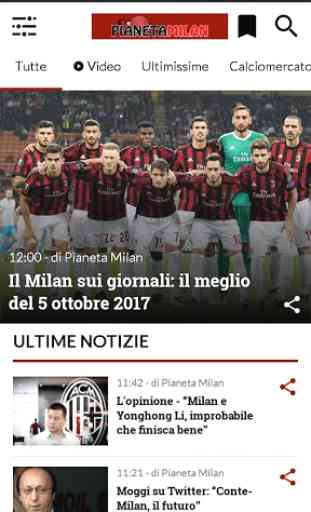 Pianeta Milan 1