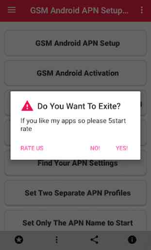 GSM Android APN Setup 4