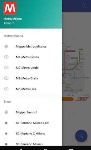 Metro Map Milano 1