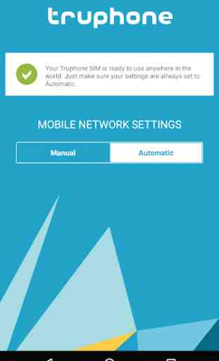 Truphone SIM Data Settings 2