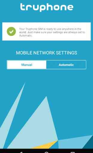Truphone SIM Data Settings 3