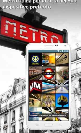 Milano Metro Guida e mappa interattivo 1