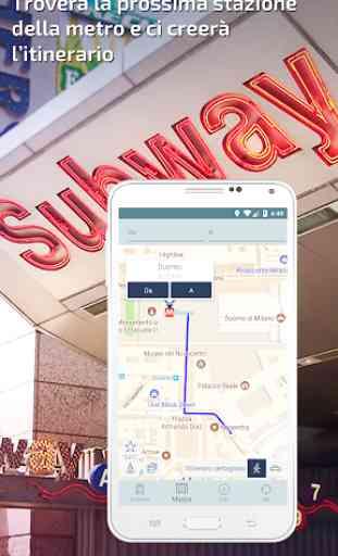 Milano Metro Guida e mappa interattivo 4