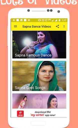 Sapna Chaudhary Videos:- Sapna Dance Videos 2