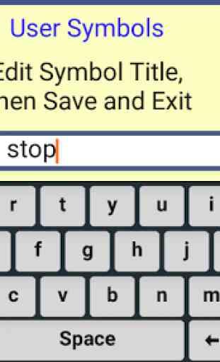 User Symbols AAC Lite 3