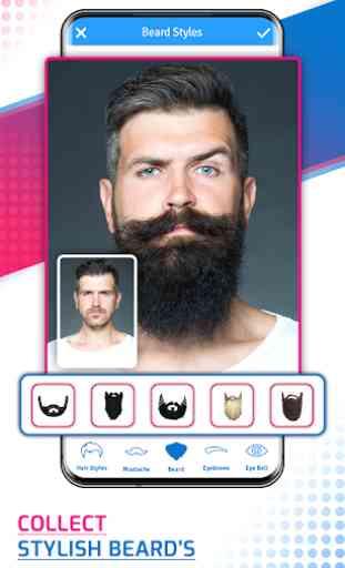 Man Photo Editor & Men HairStyle, Suit, Moustache 2