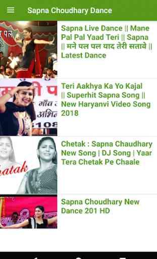 Sapna Chaudhary song - Sapna ke gane, sapna dance 3